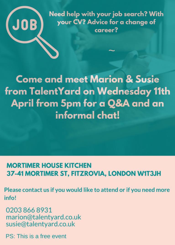 TalentYard recruitment event